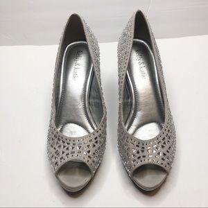 Kelly & Katie Jeweled Heels